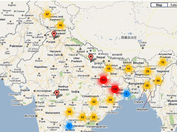 Terror attacks in India - 2009
